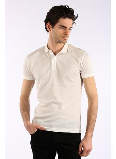 Rodrigo Erkek Beyaz Düz Polo Yaka T-shirt Beyaz